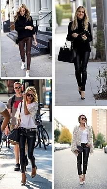 Spodnie skórkowe dostępne na olika.com.pl!  Odzież w super cenach :) ♥