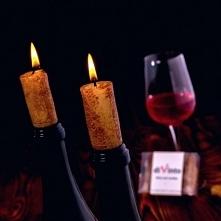 Świeczki imitujące korek od wina Doskonały Prezent Świąteczny, na Mikołajki ! <3 SmartGift.pl
