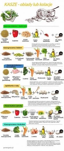 Kasza - obiady lub kolacje