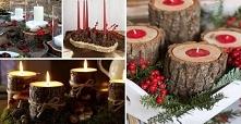 DIY: Ozdoby świąteczne z użyciem drewna. Najciekawsze pomysły!