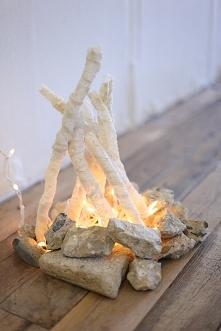ognisko w domu ;)