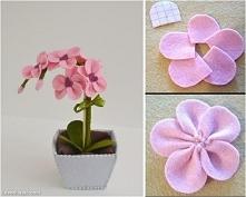 filcowy kwiatek :)