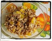 Kasza gryczana z dynią - Pumpkin With Buckwheat Kasha - Grano saraceno con zucca