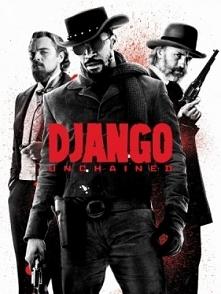 Django / Django Unchained (2012)  Łowca nagród Schultz i czarnoskóry niewolnik Django wyruszają w podróż, aby odbić żonę tego drugiego z rąk bezlitosnego Calvina Candie'ego...