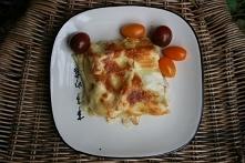 Lasagne z porem i z kurczakiem