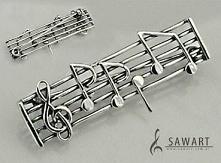 muzyczna broszka ;)