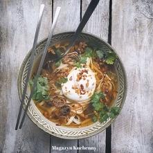 Mega sposób  jak przerobić rosół na azjatycki obiad. Przepis po kliknięciu w ...