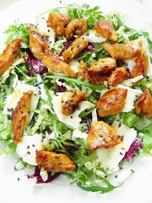 Salatki Z Kurczakiem 3 Propozycje Na Obiad W Upalny Dzien Na