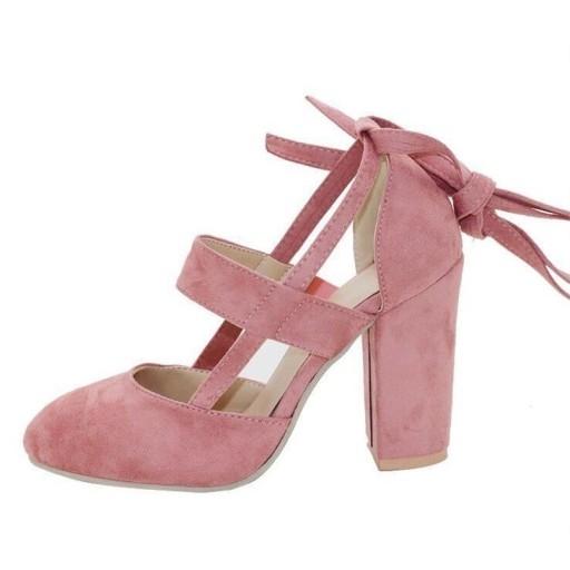 Śliczne buty na słupku.Tanio. Różne kolory. Kliknij w zdjęcie.