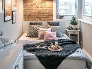 Idealna Mała Sypialnia Na Wystrój Wnętrz Zszywkapl