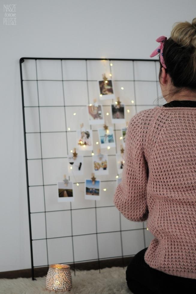 Tablica wspomnień - piękny prezent świąteczny.  Stwórz swoją tablicę! Tablica/organizer - Nasze Domowe Pielesze Zdjęcia - Pikczersbox