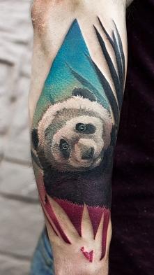 panda tatuaż