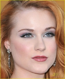 Makijaż Evan Rachel Wood