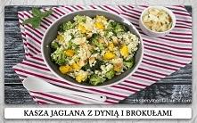 Kasza jaglana z dynią i brokułami kasza jaglana przepisy na obiad i na kolację / gluten free millet recipe
