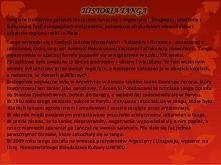 Etnografia Tango Argentina :)
