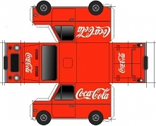 paper model auto