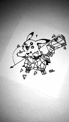 Geometryczny Pikachu