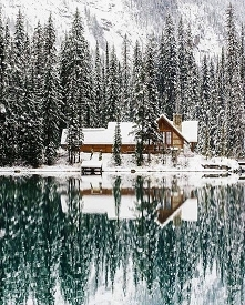Jezioro Emerald, Park Narodowy Yoho, Kanada
