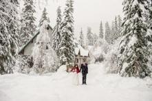 Zimowe sesje ślubne to nies...