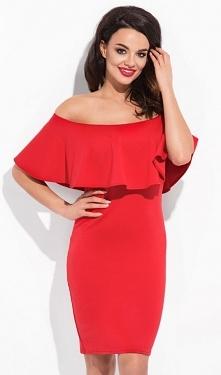 Sukienka czerwona spain