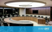 Nowoczesne biuro wymaga nowoczesnego oświetlenia - takie są właśnie sufity DP...