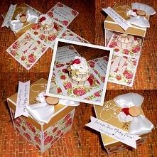 Exploding Box na ślub :) bi...