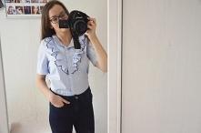 Śliczna koszula i więcej ub...