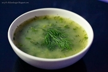 zupa koperkowa (z ryżem)