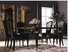 Klasyczne krzesło tapicerowane Ancona
