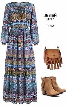 Wyjątkowa sukienka Elsa <3