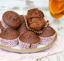 piernikowe muffiny z suszoną śliwką