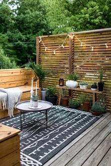 Drewniane osłony na taras: ...