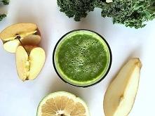 Przepis na dwa pyszne i zielone koktajle z jarmużem!  Klik w zdjęcie :)