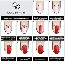 Idealnie pomalowane paznokc...