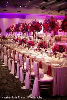 Sala weselna w pięknym stylu