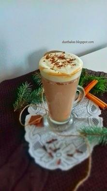 Gorąca piernikowa czekolada