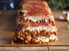 Lasagne mięsno-grzybowe w b...