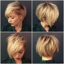 fryzurka dla blondynki