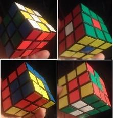 zabawy kostką Rubika :)