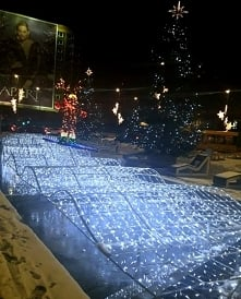 #Christmas time#Katowice#lights#best night ever <3
