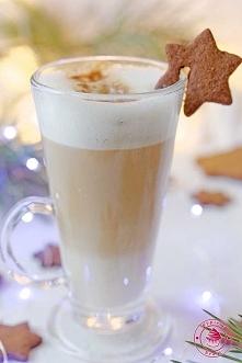 Kawa latte ajerkoniakowa - Wypieki Beaty