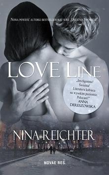 """Od dłuższego czasu zastanawiam się, jaką recenzję książki """"Love Line"""" napisać..."""