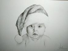 Mikołaj ukończony ;)  Rysuję na zamówienie - więcej pod adresem k-galinska1@w...