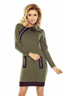 Militarna sukienka na co dz...