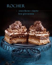 Ciasto Rocher bez pieczenia