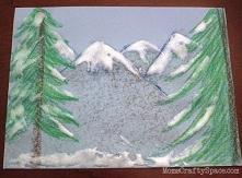 farba śnieżna Aby utworzyć farbę śnieżną, wymieszaj biały szkolny klej i piankowy krem do golenia w stosunku 1/2 szklanki kleju do 3/4 filiżanki kremu do golenia.