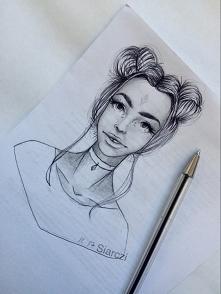 fb/dA/ig: siarczi szybki szkic z lekcji zrobiony ołówkiem i długopisem w sumi...