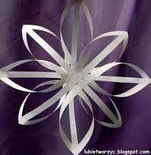 Gwiazdka z pasków papieru