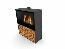 Kominek gazowy Versal Freestending z boxem - Planika - wygoda użytkowania i piękno prawdziwego ognia