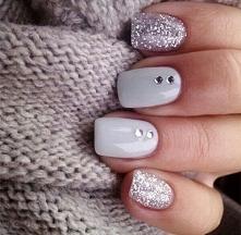 Inspiracje: Zimowy manicure - LINK W KOM!